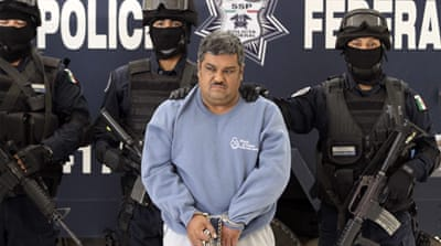 Police detain 'Mexican drug leader'