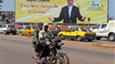 Guinea confirms Conde as president