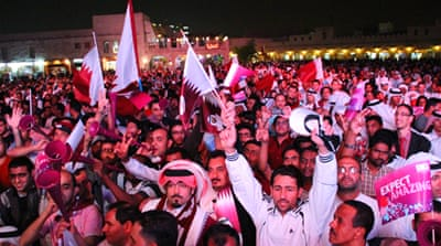 Qatar celebrates World Cup bid win