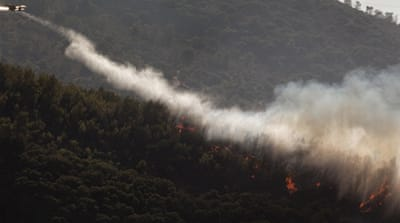 UN joins Israel firefighting effort