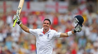 Rain halts Pietersen onslaught
