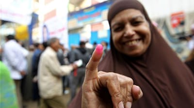 Egyptians vote in runoff elections