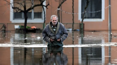 Floods cause havoc in Balkans