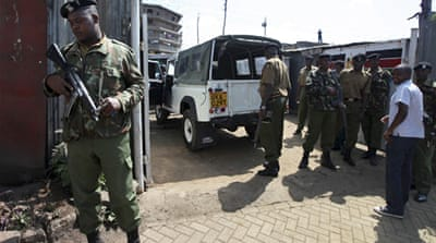 Hundreds held over Kenya attacks