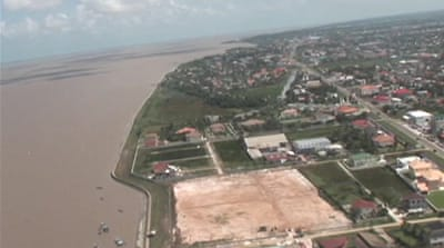 Guyana struggles with rising seas