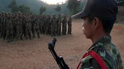 Rebels challenge Myanmar government
