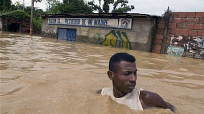 Rains devastate South America