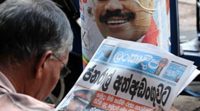Parliament dissolved in Sri Lanka