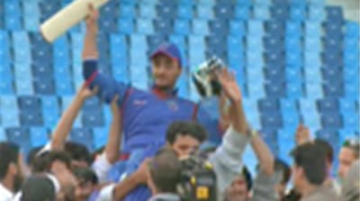 World stage for Afghanistan cricket
