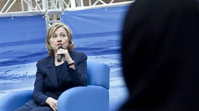 Clinton ramps up rhetoric on Iran
