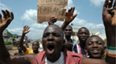 Ivorian crisis sparks protests