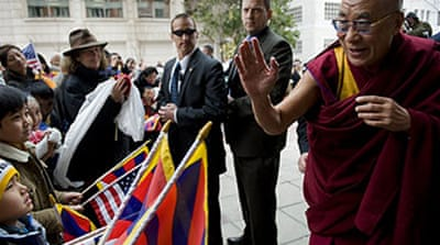 Dalai Lama in US for Obama meeting