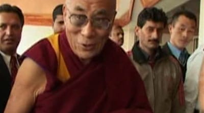 China hits back at Dalai Lama
