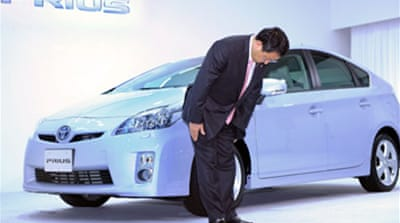 Toyota boss pledges improvements