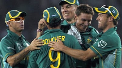 South Africa take consolation win