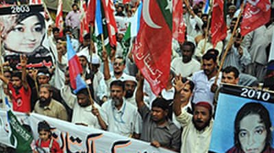 US verdict sparks Pakistan protests