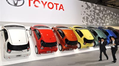 Toyota profits up despite trouble