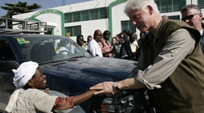 Clinton to lead Haiti aid efforts