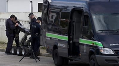 Explosives seized in Portugal