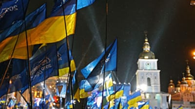Ukraine rivals end campaigning