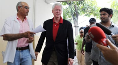 Bill Clinton rushed to hospital