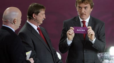 Spain handed easy Euro 2012 draw