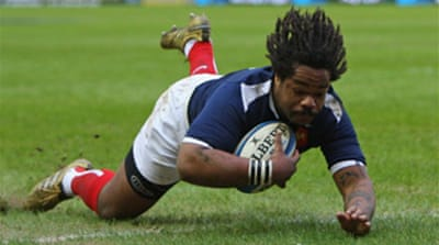 Bastareaud inspires France victory