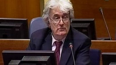 Karadzic calls war 'just and holy'