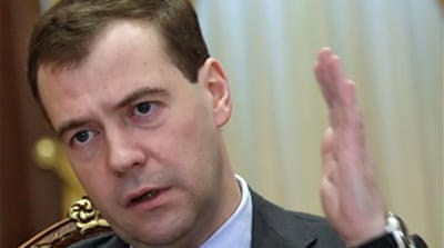 Russia defends Medvedev-Hamas talks