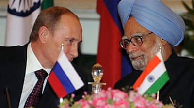 Russia to build Indian atomic units