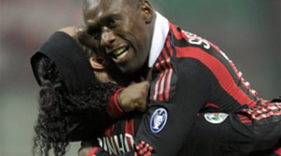 Seedorf smashes Milan to victory