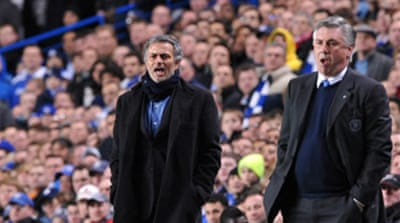Mourinho takes down old employers