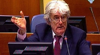 Karadzic calls alleged crimes myths