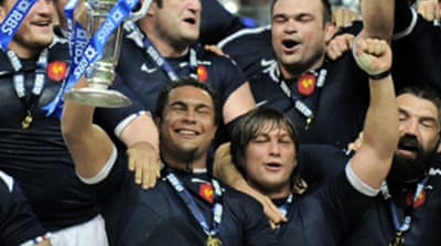 France take Six Nations grand slam