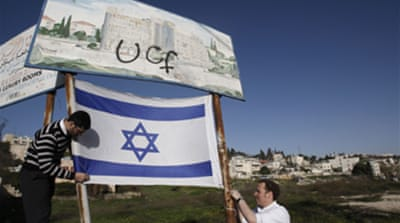 Israelis divided over settlements?