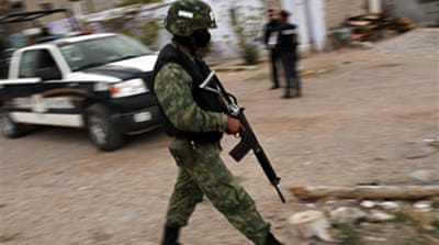 US vows help for Mexico drug war
