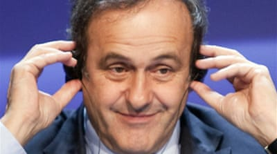 Platini set for second Uefa term