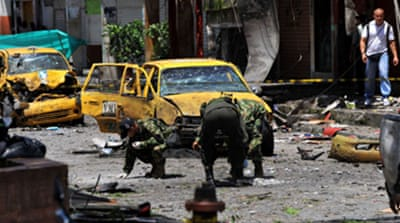 Deadly car bomb hits Colombia city