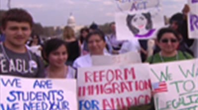 Immigrants in US push for change