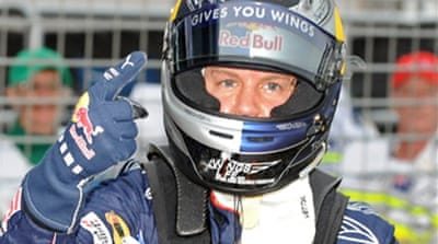 Vettel denies Webber home pole