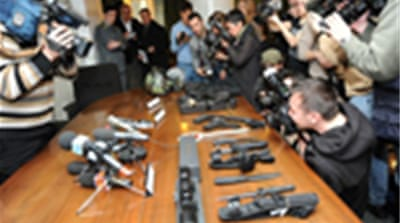 Italy arrests 'Iran arms smugglers'