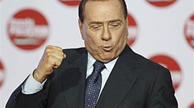 Berlusconi gains in local elections