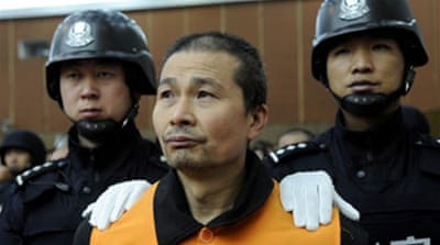 China challenged over executions