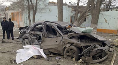 Deaths in North Caucasus blasts