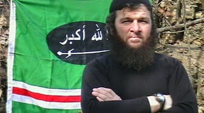 Chechen rebel claims Moscow attacks