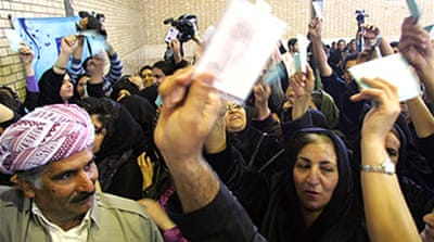 Iraq set for parliamentary election