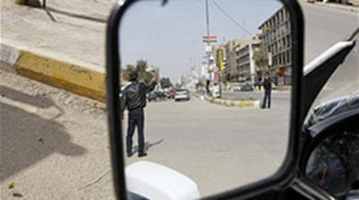Baghdad quiet on eve of elections