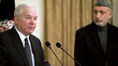 Gates warns of Afghan 'dark days'