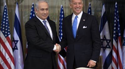 US reassures Israel over security