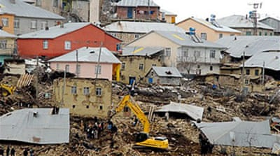 Quake exposes poor Turkish building